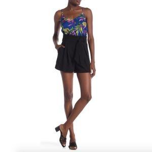 Free Press Paperbag Tie Waist Shorts Size XS